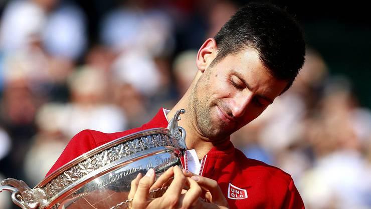 Novak Djokovic erringt 2016 den letzten ihm noch fehlenden Grand-Slam-Titel.