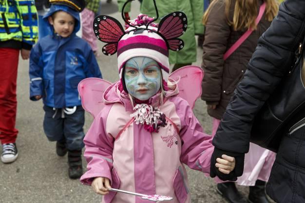 Kinderumzug und Kindermaskenball in Oberdorf. (3)