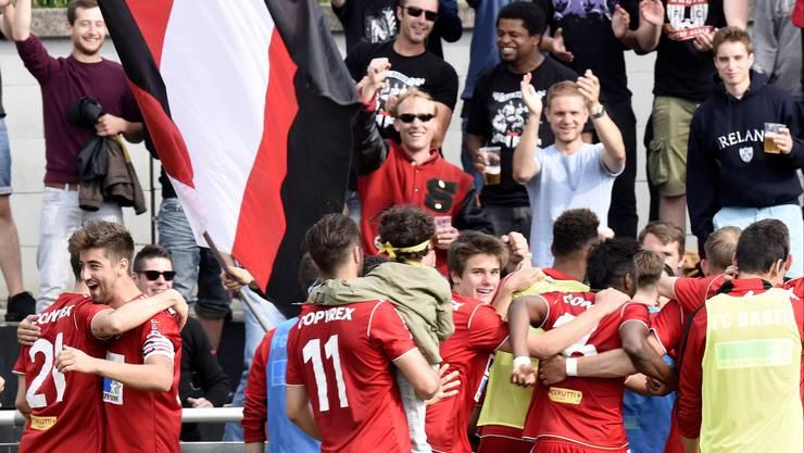 Feiert der FC Baden seine Tore bei Risikospielen bald ohne seine Fans?