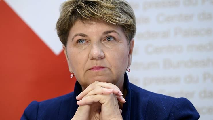 Bundesrätin Viola Amherd zeigt sich über die Missstände im Schweizer Spitzensport, namentlich im Turnverband, erschüttert. (Archivbild)