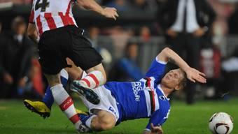 Marco Padalino muss mit Sampdoria den Gang in die Serie B antreten