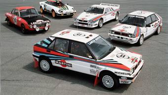 Rallye-Weltmeisterautos