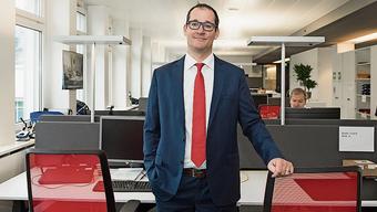 Avectris-CEO Thomas Wettstein:  «Toller Einsatz des ganzen Teams.»