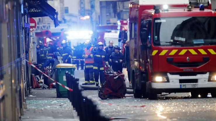 Explosion im Zentrum von Paris.