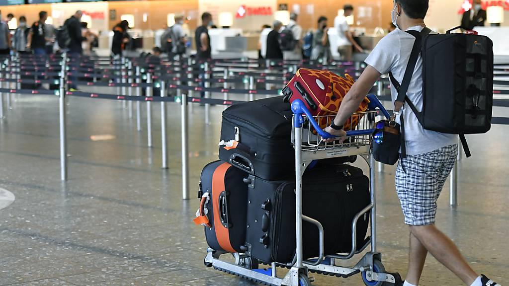 Passagierzahlen am Flughafen Zürich bleiben unter Vor-Corona-Niveau