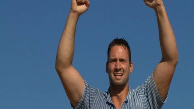 Festsieger Kilian Wenger