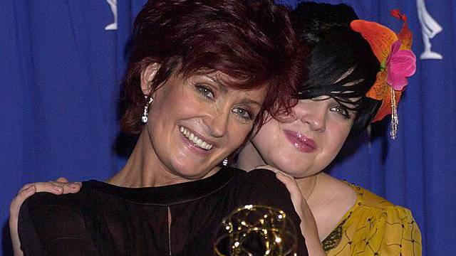 Sharon (links) und Kelly Osbourne (Archiv)