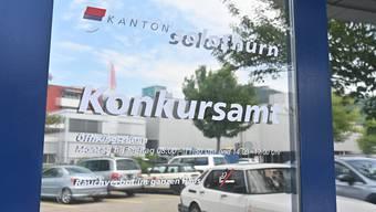 Das kantonale Konkursamt in Oensingen. Jährlich werden hier etwa 100 Firmenkonkurse abgehandelt.