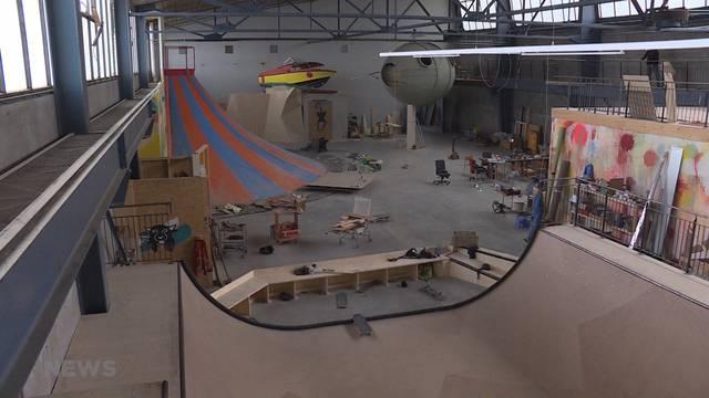 Riesiger Indoor-Spielplatz