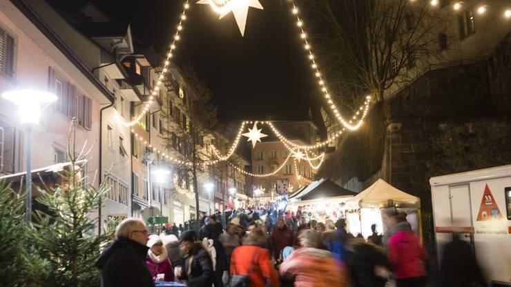 Wo Ist Der Größte Weihnachtsmarkt.Die 20 Schönsten Aargauer Weihnachtsmärkte Nr 12 Ist Der Grösste