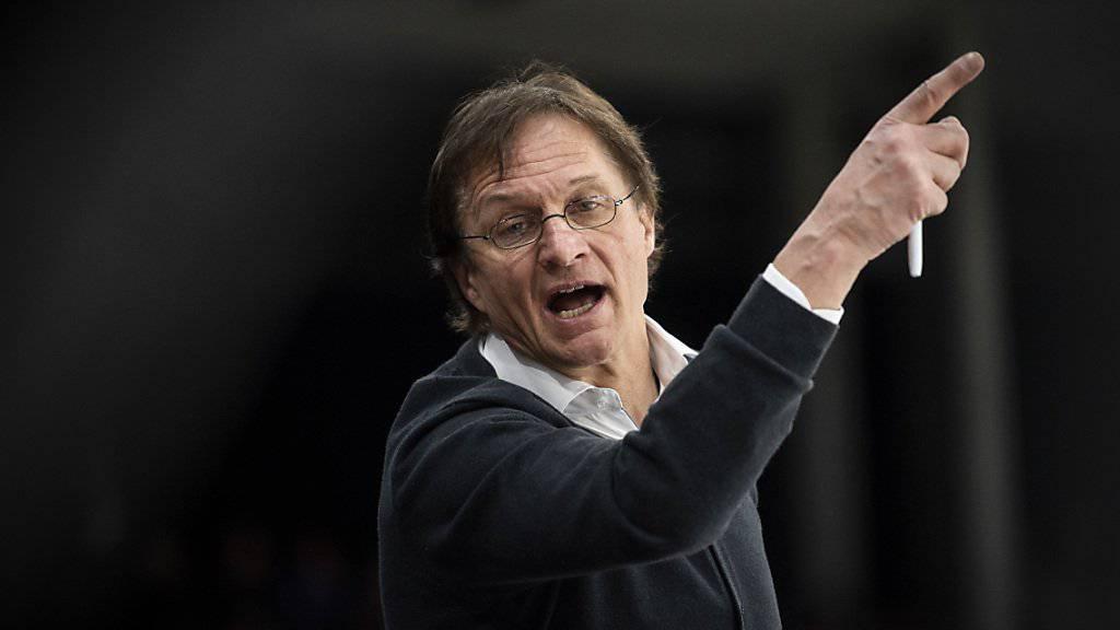 Dem neuen ZSC-Coach Arno del Curto gelang im Hallenstadion vor über 10'000 Fans ein Einstand nach Mass