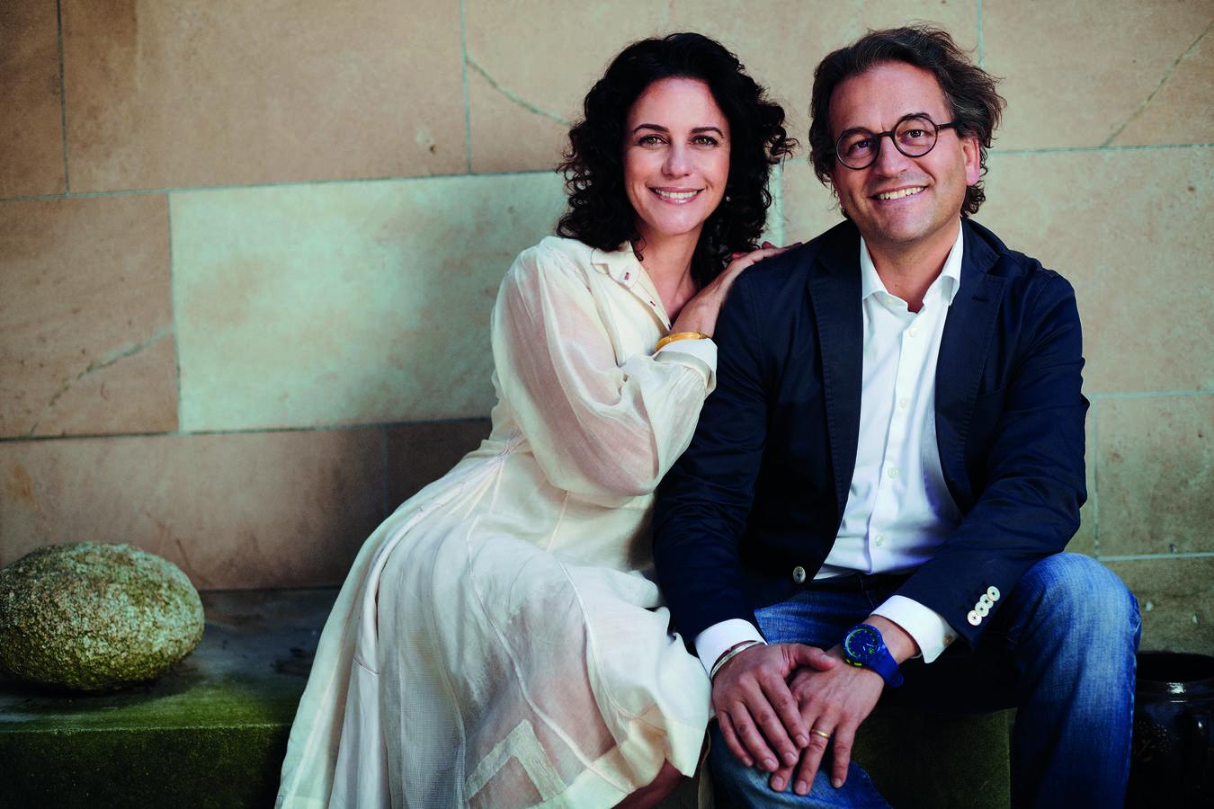 Camilla und Michael Fischbacher führen die Firma in sechster Generation. (© pd)