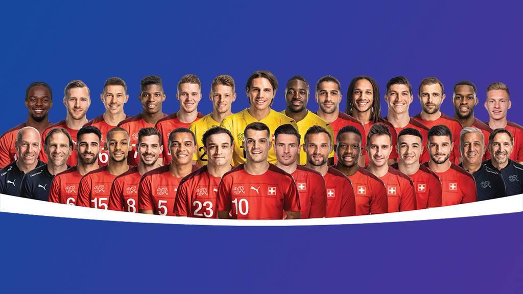 Schweizer Nationalmannschaft Website