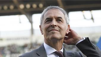 FCB-Cheftrainer Marcel Koller hat den Blick auf seinen ersten Cupfinal als Trainer gerichtet.