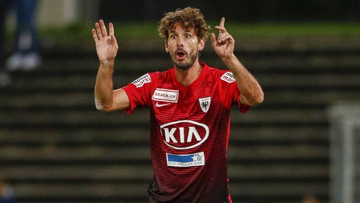 Juan Pablo Garat, der dienstälteste Spieler des FC Aarau, wird als Mensch und Sportler eine Lücke hinterlassen.