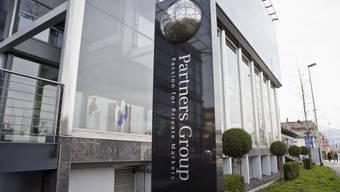 Der Glasbau der Partners Group in Baar (ZG).