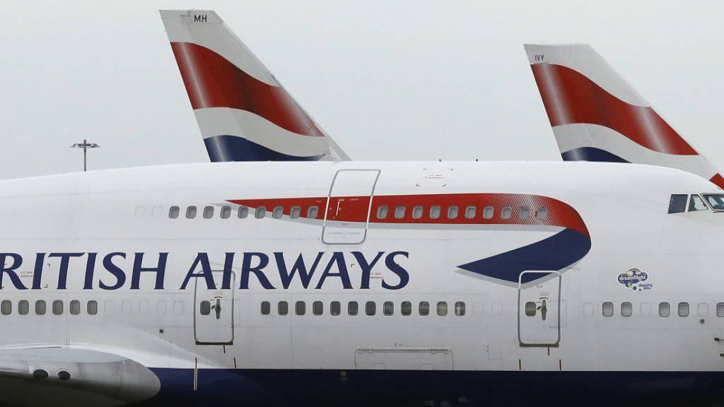 IAG, die Mutter von British Airways, steigerte die Ticketerlöse.