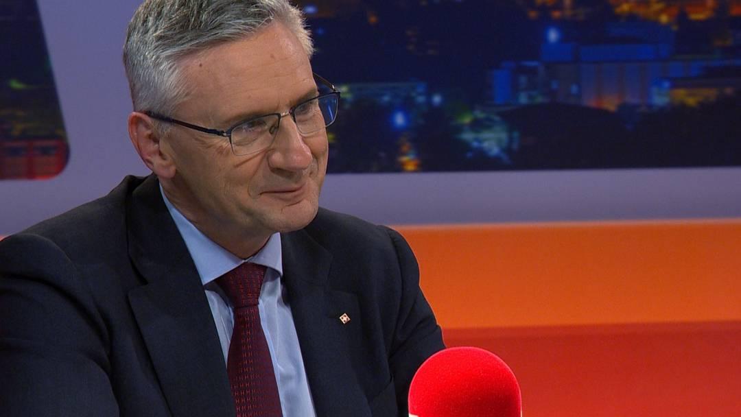 TalkTäglich –  Der neue SVP Aargau-Präsident Andreas Glarner im Gespräch mit Rolf Cavalli