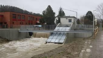 Neue Hürde für kleine Wasserkraftwerke – im Bild jenes in Schöftland. Flurina Dünki