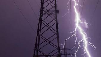 Deutschland erlebte ein Gewitterwochenende mit Hunderttausenden Blitzen (Symbolbild)