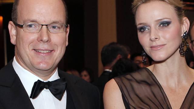 Der Fürst und seine zukünftige Frau, Charlene Wittstock (Archiv)