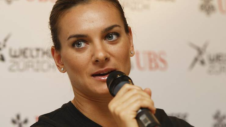 Jelena Isinbajewa legt ihr Amt als RUSADA-Chefin ab