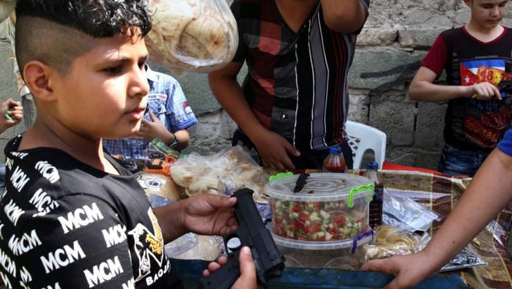 Die Menschen in Bagdad feierten gerade das Fest des Fastenbrechens, als die Autobombe explodierte.