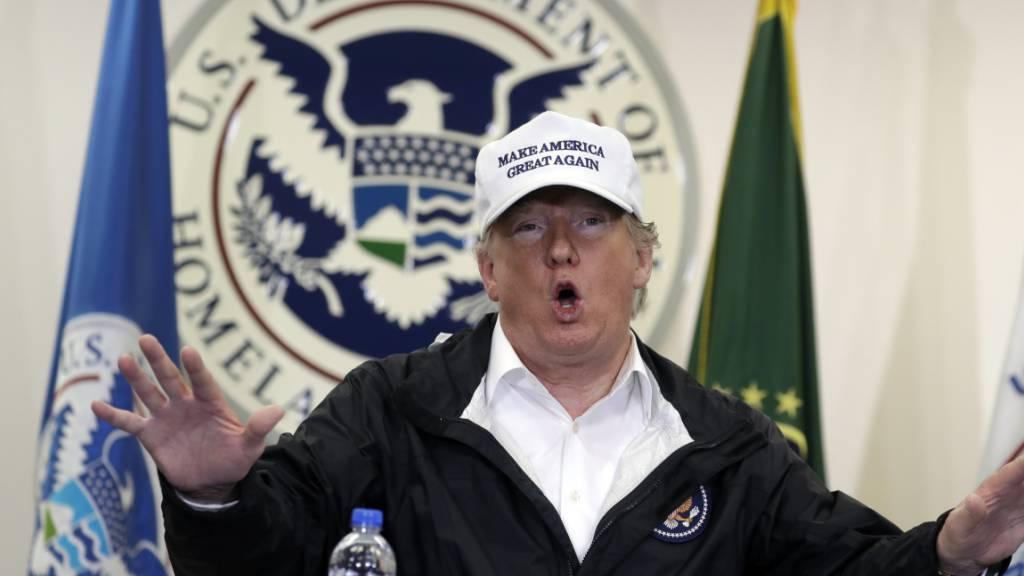 Trump senkt Aufnahme von Flüchtlingen auf Rekordtief