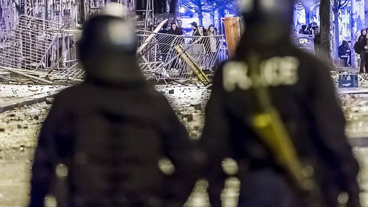 Berner Kantonspolizei und Reitschüler sprechen weiterhin nicht wirklich miteinander. (Archivbild)
