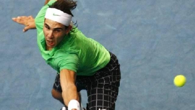 Rafael Nadal bezwang den Vorjahressieger in zwei Sätzen