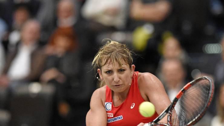 Timea Bacsinszky zieht beim gut besetzten WTA-Turnier in Doha in die zweite Runde ein