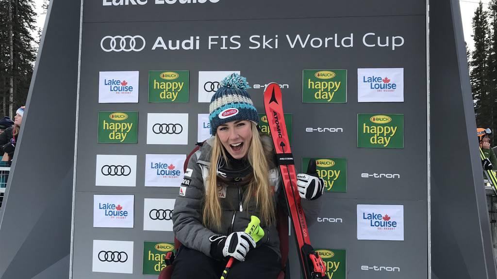 Mikaela Shiffrin schreibt Ski-Geschichte
