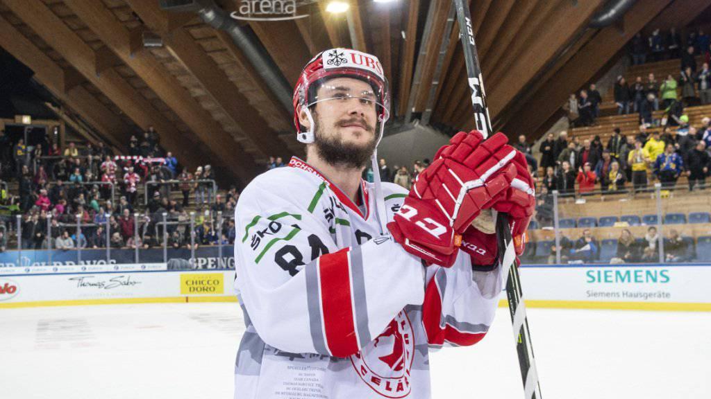 Tomas Kundratek - hier am Spengler Cup im Dress von Ocelari Trinec - verstärkt den HC Davos