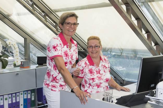 Pascale Hofer und Denise Strebel