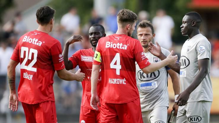 Bestnote für den Retter, schlechte Bewertung für den Routinier: Die FCA-Noten zum Saisonstart gegen Winterthur