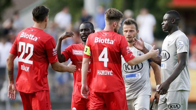 Challenge League, 1. Runde, FC Winterthur - FC Aarau (20.7.2019)