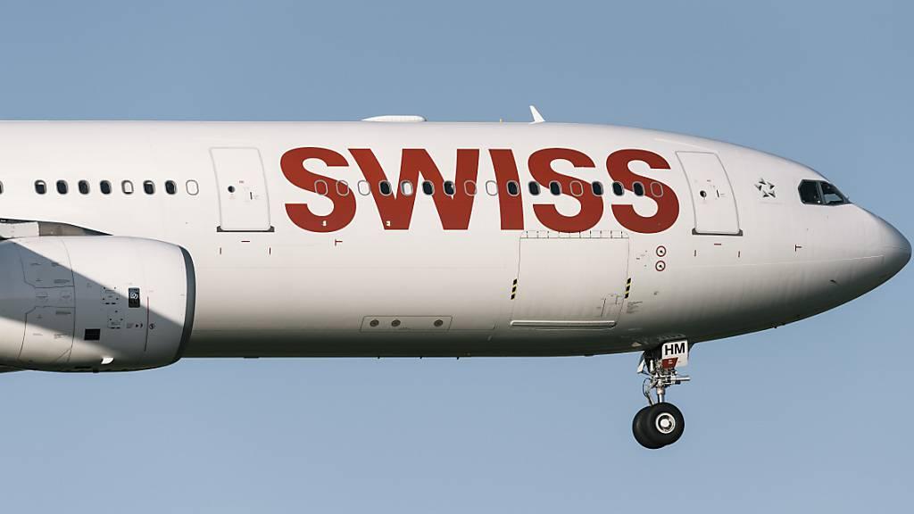 Die Swiss fliegt vorerst nicht mehr ins Vereinigte Königreich (Symbolbild).