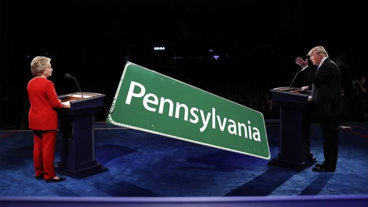 Wer ins weisse Haus will, der muss Pennsylvania gewinnen