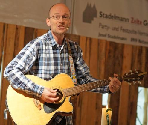 Der Berner Liedermacher Christof Fankhauser