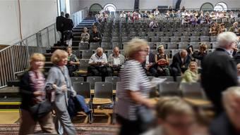 Viel zu wenig Publikum am Solothurn Classics 2015. Die Folge davon: Der Verein Solothurn Classics ging wegen Zahlungsunfähigkeit konkurs.