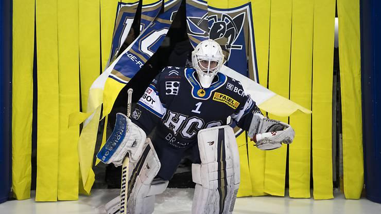 Die Playoffs gehen für Goalie Tim Wolf (Bild) und den HC La Chaux-de-Fonds in seiner Jubiläums-Saison (100 Jahre HCC) ab nächster Woche mit dem Final weiter