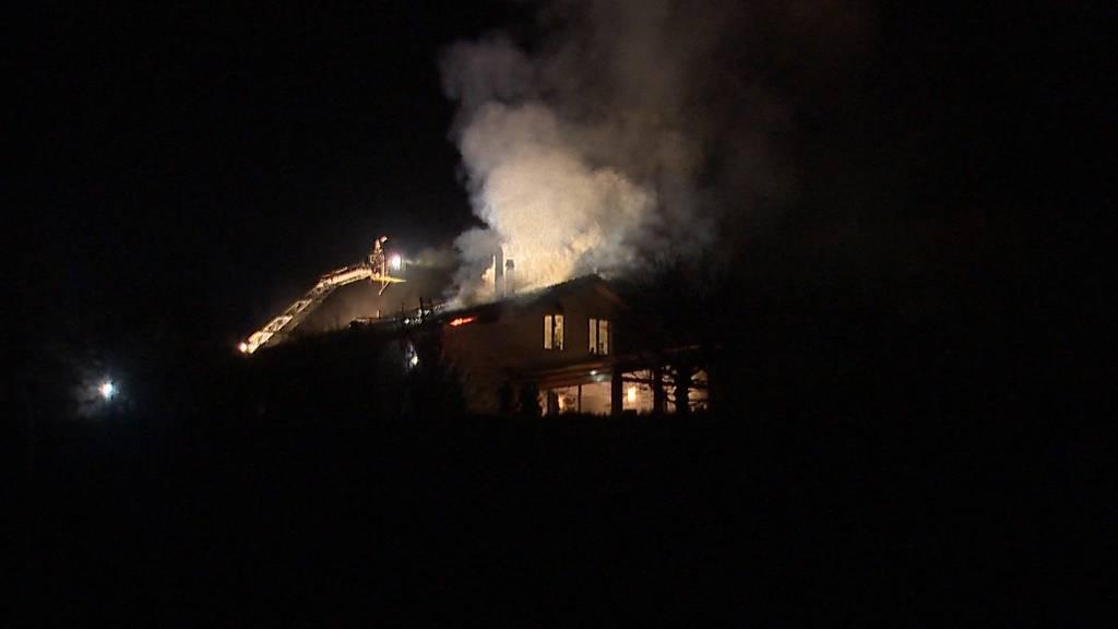 Brand in Neftenbach: Erheblicher Sachschaden