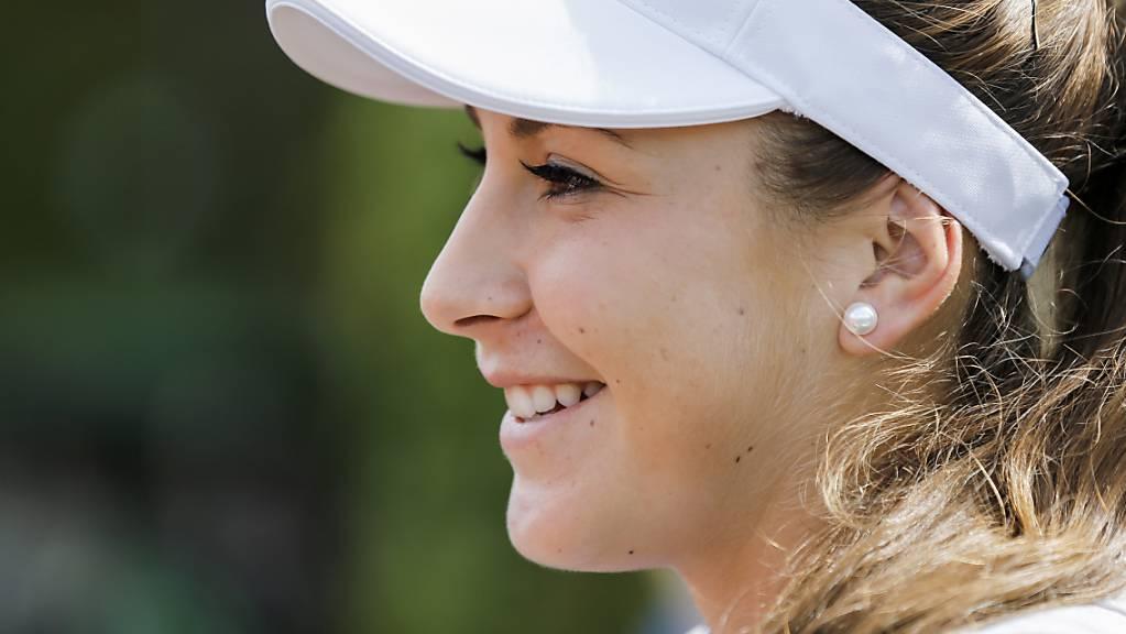 Belinda Bencic hat allen Grund, zufrieden zu sein.