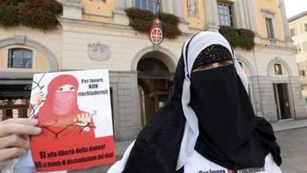 Nora Illi vom Islamischen Zentralrat (Archivbild)