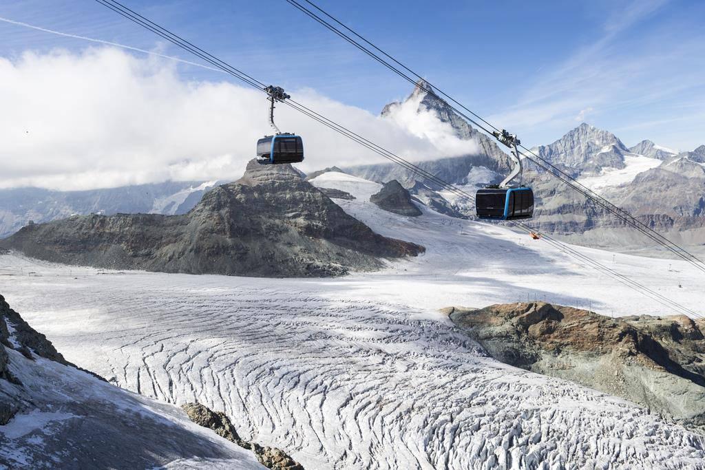 Matterhorn Glacier Ride (© Keystone/EPA/AP/Dominic Steinmann)