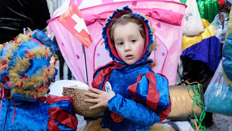 So bunt war der Solothurner Kinderumzug 2020.