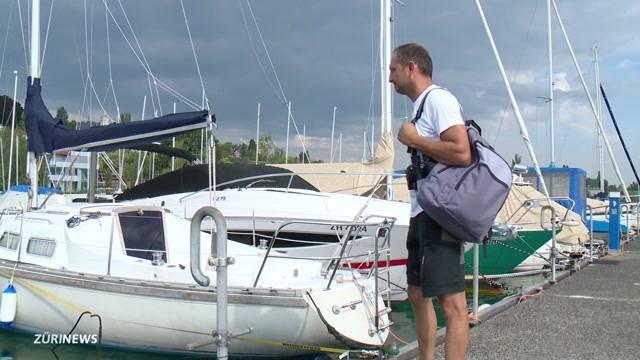 Sportboot auf dem Zürichsee verschwunden