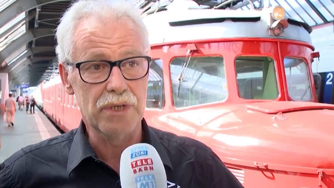 «Die Wägen aus dem Verkehr ziehen», fordert der Präsident des Zugpersonalverbands, Andreas Menet (8.8.2019)