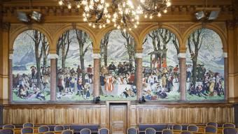 Der Ständerat bleibt eine Männerbastion. Nach den Wahlen sitzen noch sieben Frauen in der ehrwürdigen kleinen Kammer.