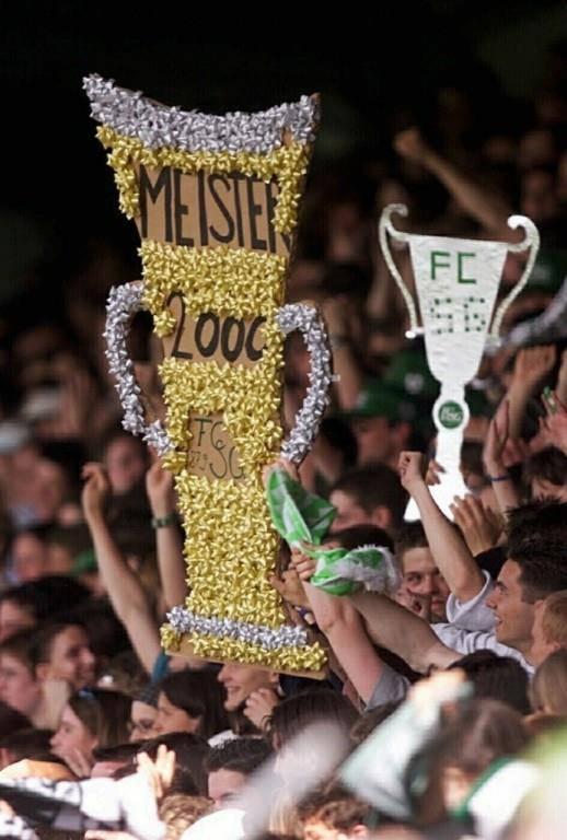 FCSG-Meisterfeier 2000